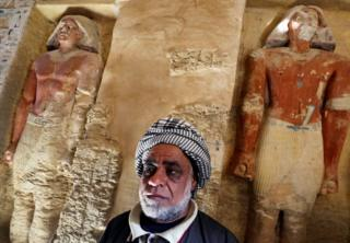 Archaeologists plan to explore the tomb further, and should find the priest's coffin soon