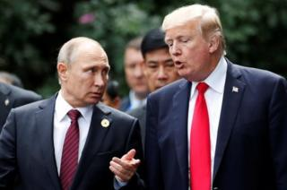 Putin dan Trump