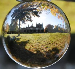 Reflection of Lauriston Castle