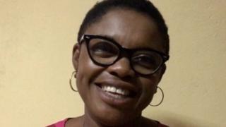 Ntungwen Morine laugh afta long taim