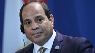 Le chef de l'Etat égyptien, Abdel Fattah al-Sissi, président en exercice de l'Union africaine