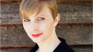 A portrait of Chelsea Manning