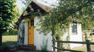 Roald Dahl's hut
