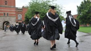 Students at Birmingham University
