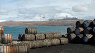 Jura from from Bunnahabhain distillery