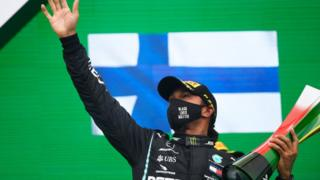 Lewis Hamilton breaks F1 win record in Portugal