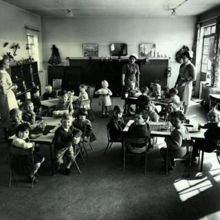 Children in 1950s