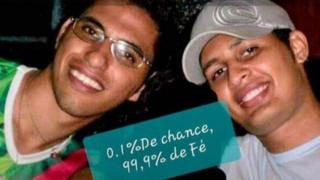 Luis Paulo Caetano e Francis Erick Soares Silva