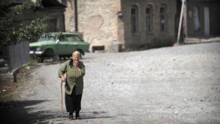 Женщина в Ахалгори
