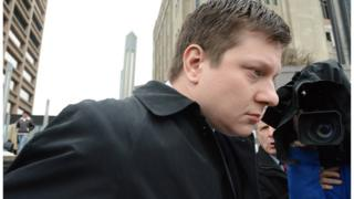 Jason Van Dyke arrives at court