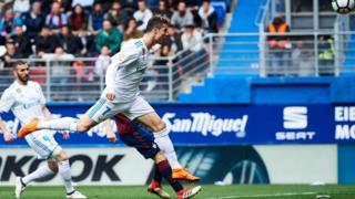 Le but d'anthologie marqué par Cristiano Ronaldo à la 84e minute contre Eibar.