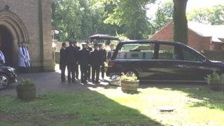 Maxwell funeral
