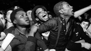Specials fans, Potternewton Park, Leeds, 1981