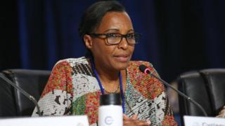 Madamu Cyriaque Nikuze Sendashonga, umupfakazi wa Seth Sendashonga wabaye Minisitiri w'ubutegetsi bw'igihugu w'u Rwanda