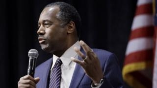 Ben Carson in Reno, Nevada. Photo: 21 February 2016
