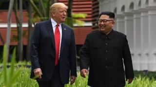 Donald Trump, Kim Jong-un, North korea, USA