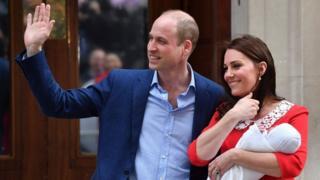 королевская чета с младенцем