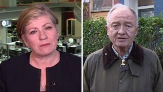Emily Thornberry and Ken Livingstone