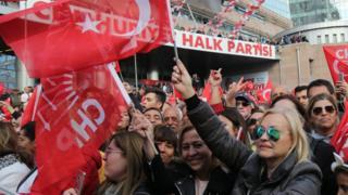 Kampanye CHP di Istanbul