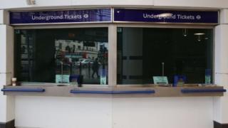 London Underground ticket office
