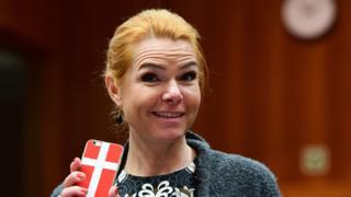 وزیر مهاجرت دانمارک