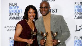 Regina King and Barry Jenkins