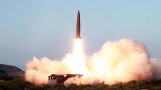 "North Korea""s missile launch on July 26"