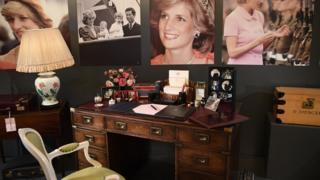 Princess Diana'nın masası