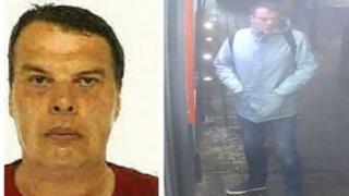 CCTV images of Mr Round