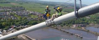 پل معلق فورث رود در اسکاتلند