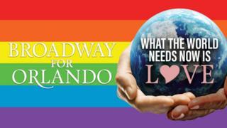 Broadway for Orlando artwork