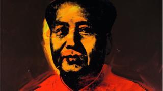 Warhol's Mao portrait