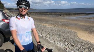 Ironman Wales: 'My 140-mile challenge four years after break back'