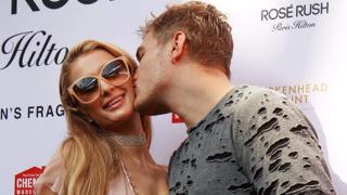 Image result for Paris Hilton gets engaged and the ring is HUGE