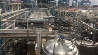 Inside The Eagle Brewery