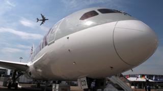 Лайнер Qatar Airways