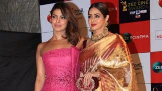 سری دیوی اور پرینکا چوپڑہ