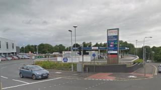 Tesco petrol station in Winterthur Lane, Dunfermline