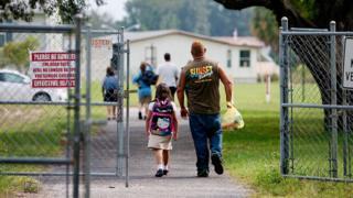 Parent and child in Florida