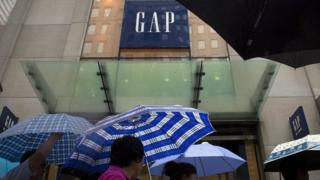 A Gap store in New York