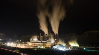 Filtresiz üretim yapan tesislerden biri: Ankara'daki Çayırhan Termik Santrali