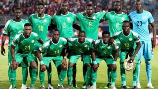 Le 11 de départ du Sénégal face au Kenya, le 11 juillet 2019