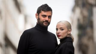 Madame Monsieur - Emilie Satt and Jean-Karl Lucas, who have been married for three years