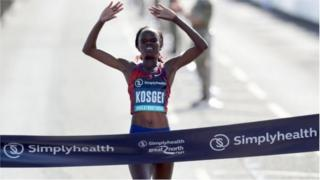 Brigid Kosgei au Grand North Run