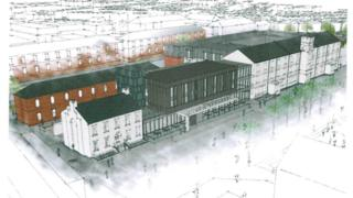 concept drawing ebrington hotel