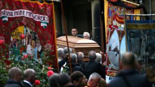 Dave Hopper funeral