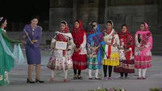 پایان جشنواره ترانه شرق در سمرقند