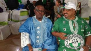 Honourable Simon Nchinda Forbi and Honourable Joshua Osih