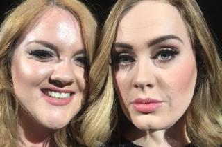 Emily Bamforth and Adele
