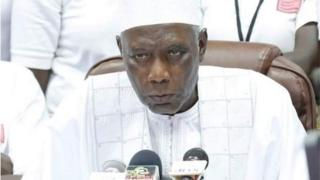 Shugaban hukumar zaben Gambia Alieu Momar Njai